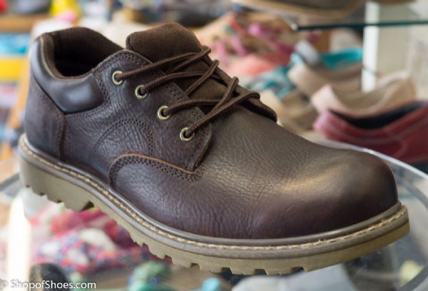 Woodland goodyear welted padded utility shoe.